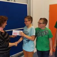 KiJuPa überreicht 850 EUR Fördergeld