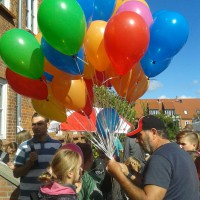 """Weltkindertag 2014 """"Jedes Kind hat Rechte"""" im KJFZ"""