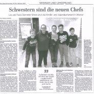 Ostseezeitung berichtet vom KiJuPa